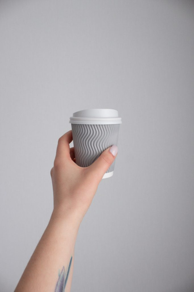 precycling can save money - reusable coffee cup